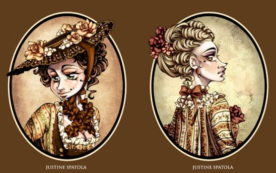 1760's Character Busts by Seitou