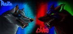AzureHowl - Ruuza vs Chaos by BrightShadowWolf31