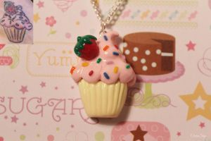 Tattoo Based Cupcake Charm by CharmStop