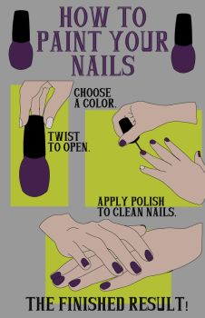 How To Paint Your Nails! by TheElegantFaerie