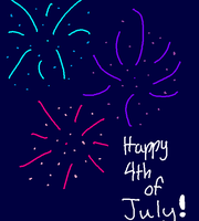 Happy 4th of July by Bonnieart04