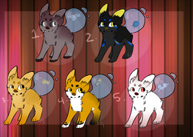 Fishtail Auction Adopts // CLOSED // by Llamadopts