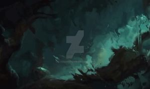 League of Legends : Rengar wallpaper animated by CJXander