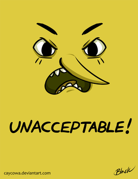 Adventure Time - Unacceptable by caycowa