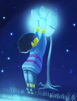Undertale concept 03 (color test) by oennarts