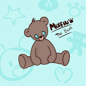 Muffin the little bear by kangaroo722