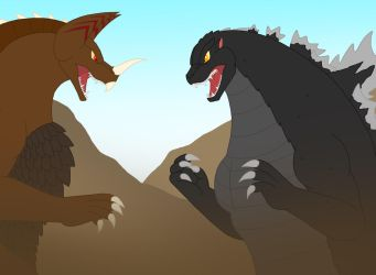 Godzilla and his Amazing Friends Episode 2 Scene by Pyrus-Leonidas