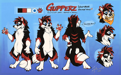 Commission: Gupperz by Synthucard