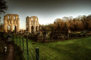Roche Abbey III... by TheBaldingOne