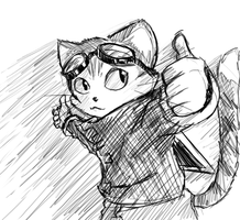 --+BlinX Doodles+-- by Marre-Chan95