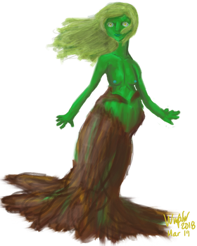 [P] - Pregnant Mother Nature by PixelPunch007