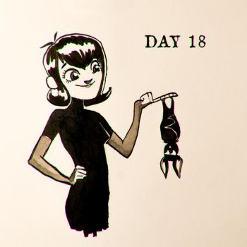DAY 18: Mavis and her dad by Stupchek