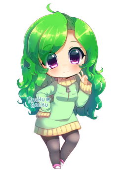 Green and Adorable by RockuSocku