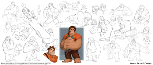 Ralph Sketches by GreekCeltic