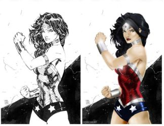 Wonder Woman by Jim Lee by NigelHalsey