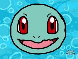 Squirtle HeadShot by Maizox