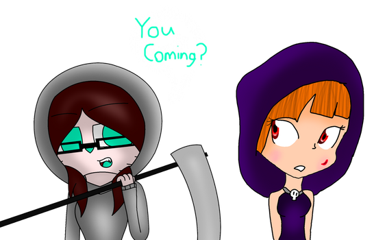 You Coming? (COLLAB WITH CATTYTOXIC) by lovie5678