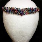 Maille Circlet -- Confetti/Narrow by NebulaDraconian