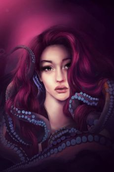 Tendrils, Tentacles by mosessa