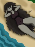 Request:  Vampire Thea's Beach by Dredgone