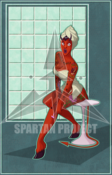 pin up sin nombre 5 by spartan-project