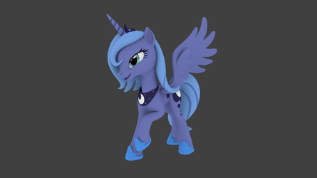 Luna Pose 1 .Blend File by pizzalover53