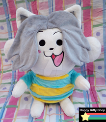 Temmie Plush by HappyKittyPlushies