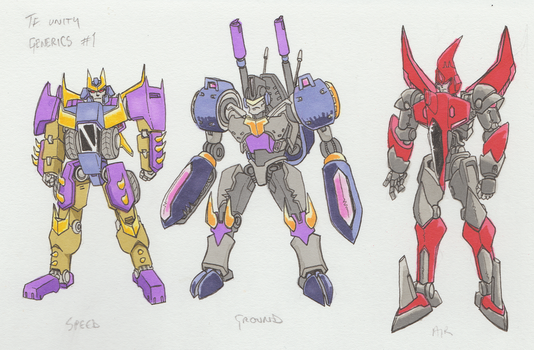 TFU Predacon Civilians 1 by Zero-Kaiser
