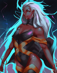 Omega Level Mutant - Storm by iamHikari-kun