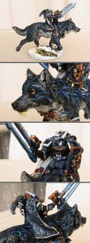 Space Wolves Chief by Kasuki-Seal