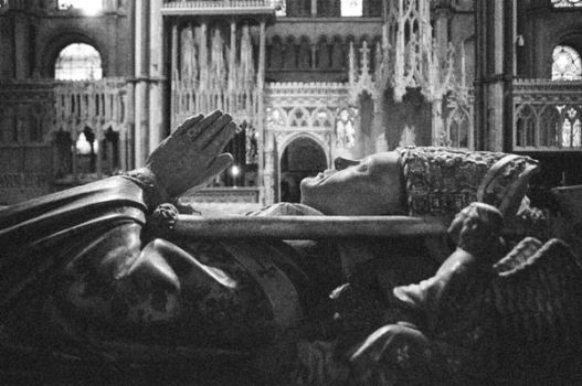 inside canterbury cathedral by suripawar