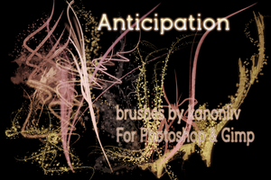 Anticipation Brushes by kanonliv