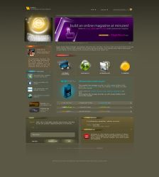 Rayka Web Template by antialiasfactory