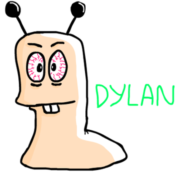 Dylan the Garden Worm by TrackyTrackie94