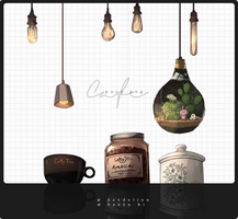 Pack Cafe 7 Png by Hanyu-Hi
