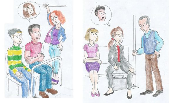 Put yourself in my shoes! Part 4 : the commute by jimmyharper12