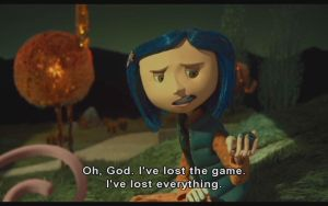 See, Even Coraline's Playing by beastchicky