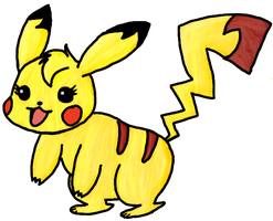 Momo the Pikachu by Jenop12