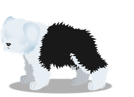 old english sheepdog b by PurpleRat-YS
