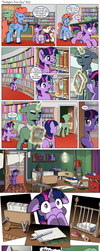 Comic: Twilight's first day #22 [Polish] by doktorwhooves