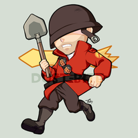 Mini Project: Soldier by dust-bite