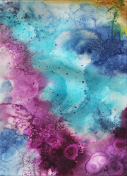 Free Watercolor Texture 1 by SunStateGalleries