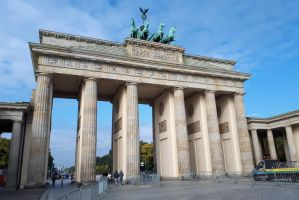 Brandenburg Gate 1, Berlin by wildplaces