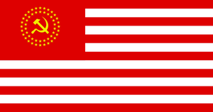 USSA flag by 33k7