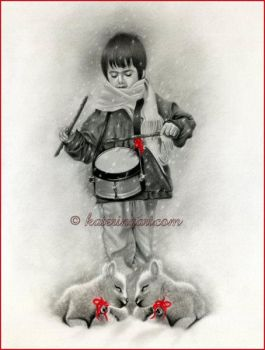Little Drummer Boy by Katerina-Art