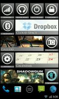 Android phone 7 metro tile icons by AlexJMiller