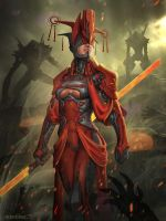 Red Queen by AlbyU