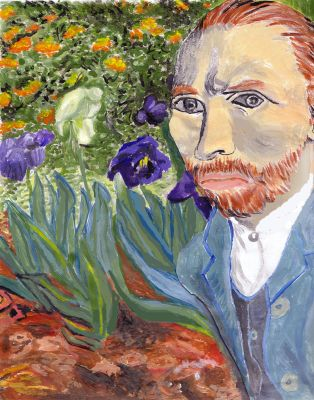 Tribute To Van Gogh by Bluesilver84