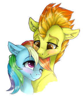 [Commission] Cuddles (+SPEEDPAINT) by GaelleDragons