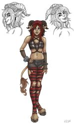 Amber the Demon by NatsumeWolf